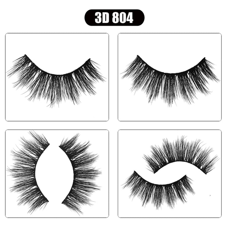 3D Mink Eyelashes - Bulk 20/30/50/100 PAIRS - WINK EYELASH BAR & MAKEUP STUDIO