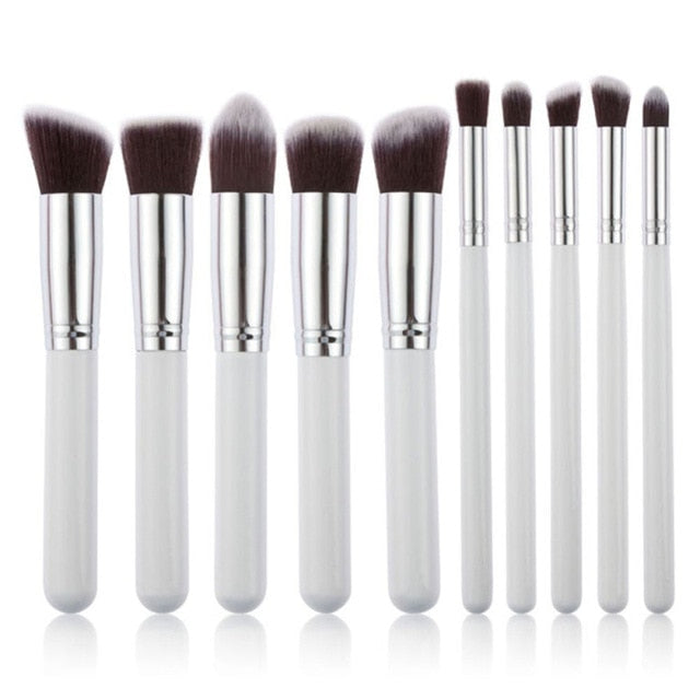 Kabuki Makeup Brush Set - WINK EYELASH BAR & MAKEUP STUDIO