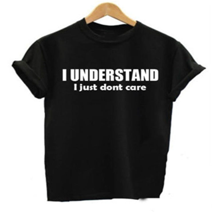 I UNDERSTAND Funny Graphic T Shirt - WINK EYELASH BAR & MAKEUP STUDIO