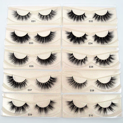 Lavish 3D Mink  Eyelashes - WINK EYELASH BAR & MAKEUP STUDIO