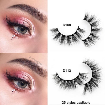 3D Handmade Mink Lashes - WINK EYELASH BAR & MAKEUP STUDIO