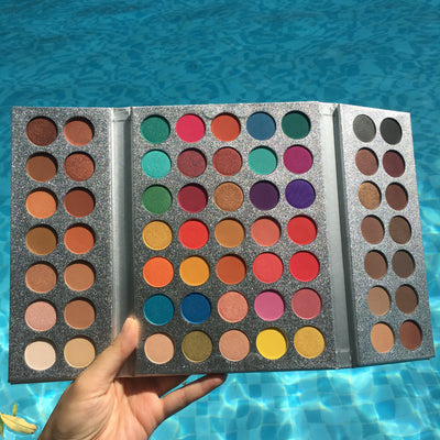 Beauty Glazed 63 Color Makeup Eye Shadow Palette - WINK EYELASH BAR & MAKEUP STUDIO