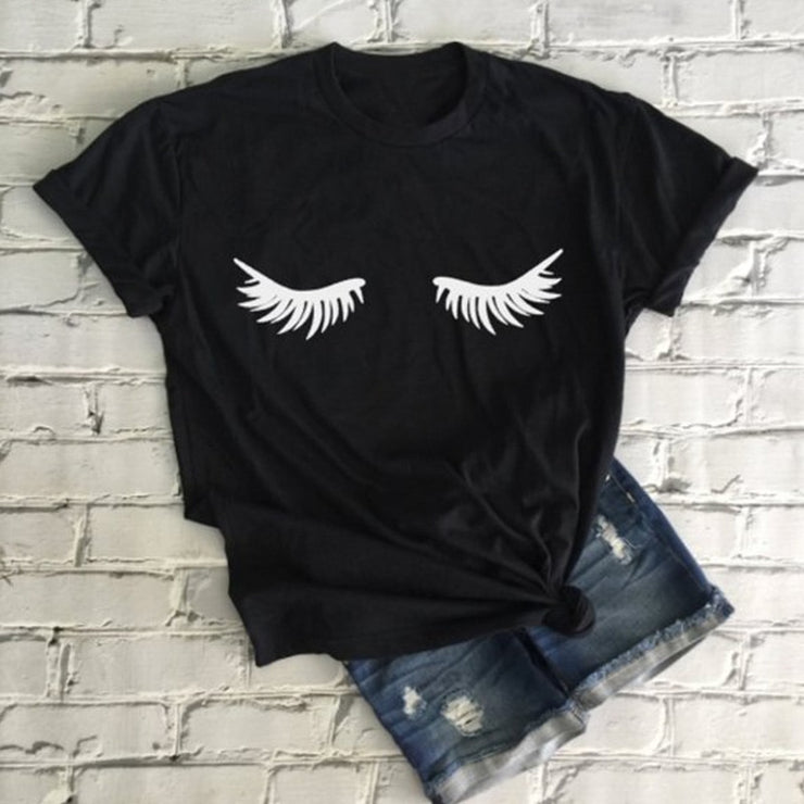 Lash-tashic Women Eyelashes T Shirt - WINK EYELASH BAR & MAKEUP STUDIO