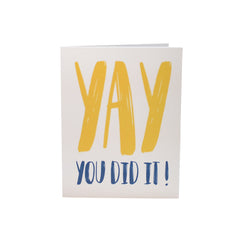 Yay, You did it!