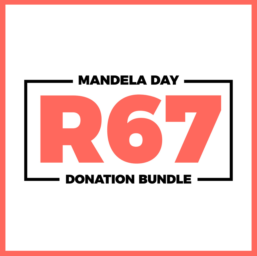 R67 direct donation - Mandela Day 2020