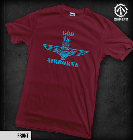 God is Airborne T-Shirt