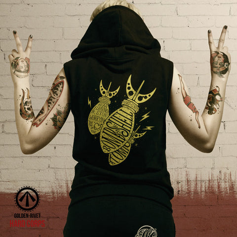 Love the Bombshell Sleeveless Hoodie