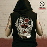 Born to Fight Sleeveless Hoodie