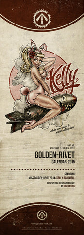 Golden-Rivet 2015 Calendar
