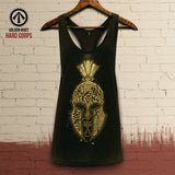 'Only the Hard, Only the Strong' Racerback Gym Vest