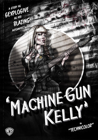 'Machine Gun Kelly' Giclee Print