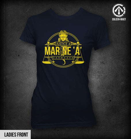 Justice 4 Marine A t-shirt