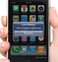 20% iphone battery