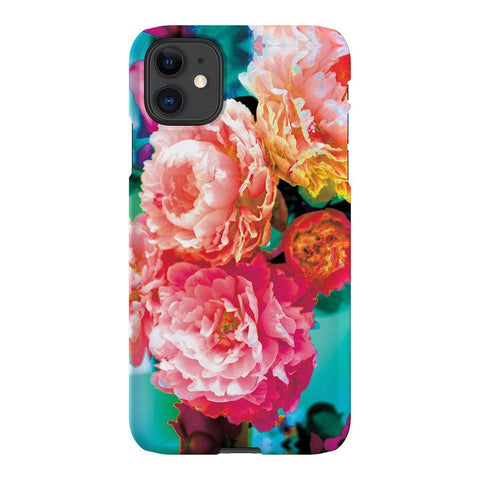 Amy Sia Peony iPhone Samsung Galaxy Phone Case The Dairy