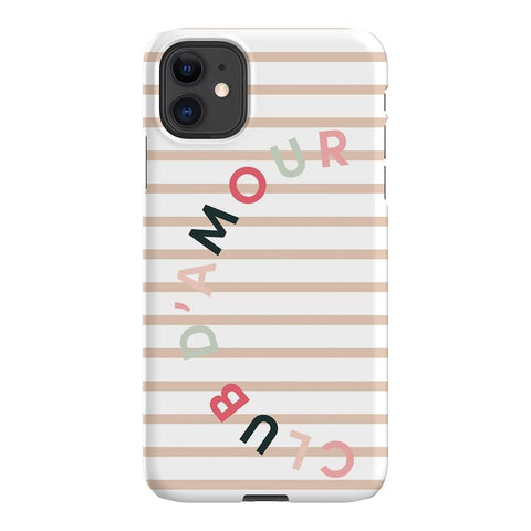 Apero Apéro Club D'amour iPhone Samsung Galaxy Phone Case The Dairy