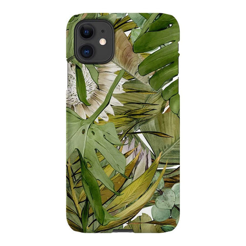 Birdy and Me Botanical iPhone Samsung Galaxy Phone Case The Dairy