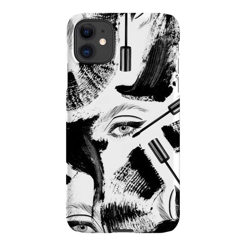 Birdy and Me Mascara iPhone Samsung Galaxy Phone Case The Dairy
