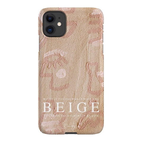 Bonnie Gray Beige Without You (Sand) iPhone Samsung Galaxy Phone Case The Dairy