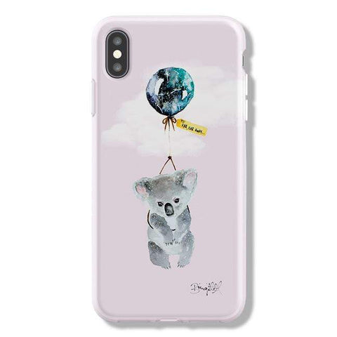 Brigitte May Far Far Away Koala iPhone Samsung Galaxy Phone Case The Dairy