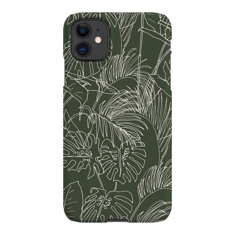 Cass Deller Jungle iPhone Samsung Galaxy Phone Case The Dairy