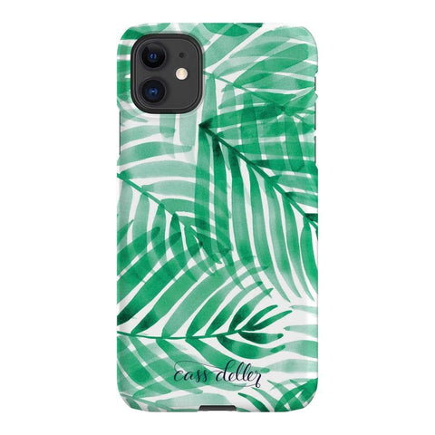 Cass Deller Palm Leaves iPhone Samsung Galaxy Phone Case The Dairy