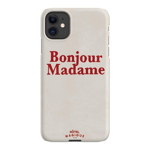 Hotel Magique Bonjour Madame iPhone Samsung Galaxy Phone Case The Dairy