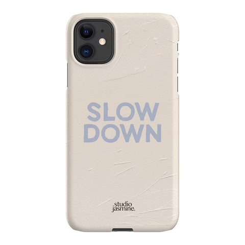 Jasmine Dowling Slow Down iPhone Samsung Galaxy Phone Case The Dairy