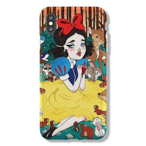 Lauren Carney Snow White iPhone Samsung Galaxy Phone Case The Dairy