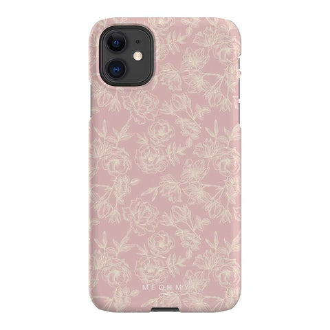 Me Oh My Floral Pink iPhone Samsung Galaxy Phone Case The Dairy