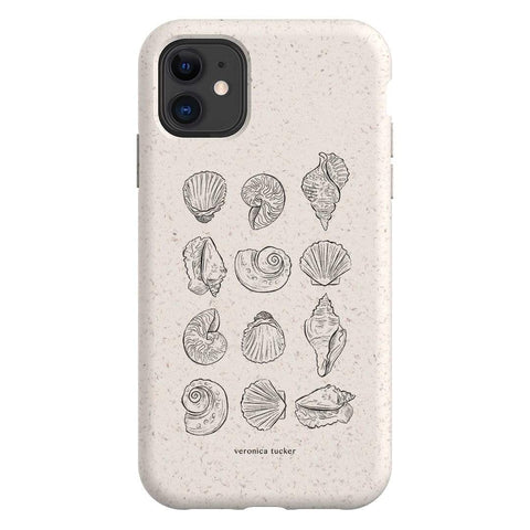 Me Oh My Seashells Bio Case iPhone Samsung Galaxy Phone Case The Dairy
