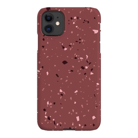 The Dairy Rust Terrazzo iPhone Samsung Galaxy Phone Case The Dairy