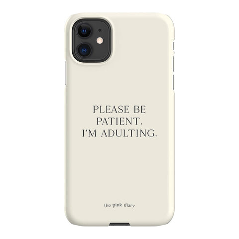 The Pink Diary Adulting iPhone Samsung Galaxy Phone Case The Dairy