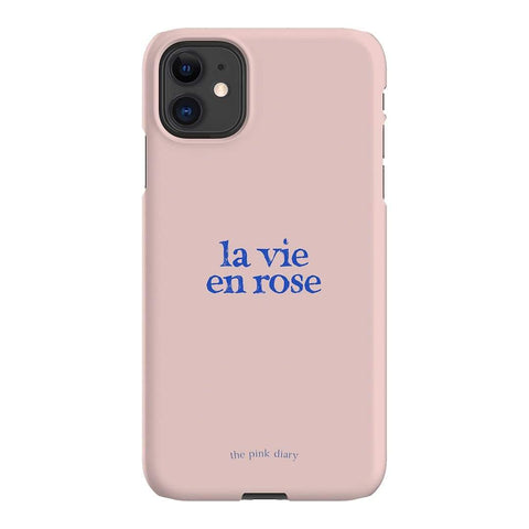 The Pink Diary La Vie en Rose iPhone Samsung Galaxy Phone Case The Dairy