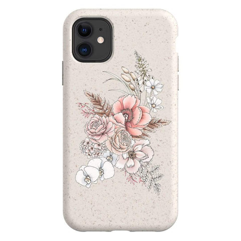 Typoflora Faded Bloom Bio Case iPhone Samsung Galaxy Phone Case The Dairy