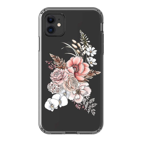 Typoflora Faded Bloom Clear Case iPhone Samsung Galaxy Phone Case The Dairy