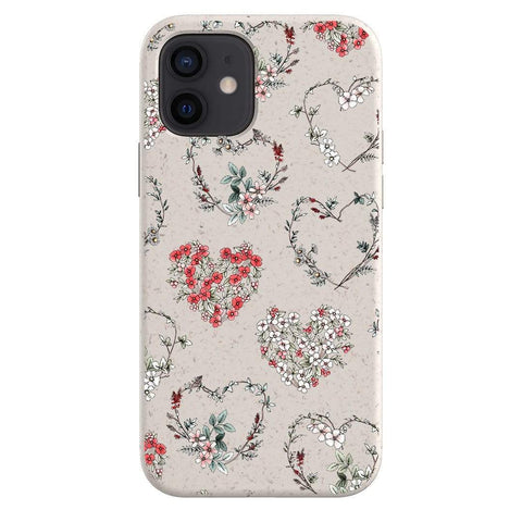Typoflora Floral Love Bio Case iPhone Samsung Galaxy Phone Case The Dairy