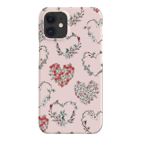Typoflora Floral Love iPhone Samsung Galaxy Phone Case The Dairy