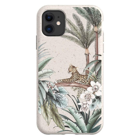 Typoflora Leopard Bio Case iPhone Samsung Galaxy Phone Case The Dairy