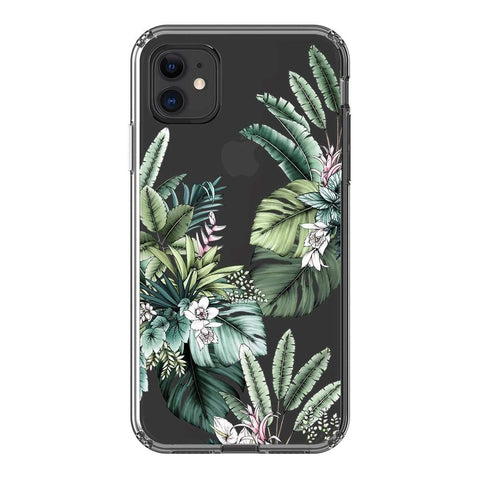 Typoflora Tropical Paradise Clear Case iPhone Samsung Galaxy Phone Case The Dairy