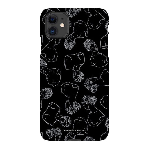Veronica Tucker Roman Bust Noir iPhone Samsung Galaxy Phone Case The Dairy