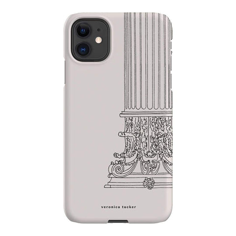Veronica Tucker Roman Column iPhone Samsung Galaxy Phone Case The Dairy