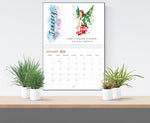 2020 Motivational Splatterink Art Calendar and Wall Planner - Unique Christmas gift idea