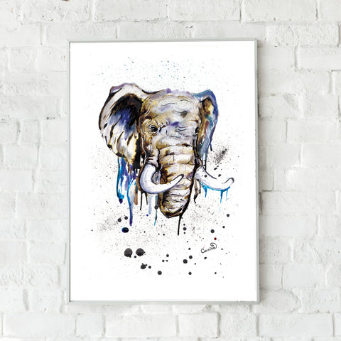 Elephant Fine Art Print -  perfect for any animal lover