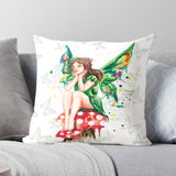 Luxury feel Fairy Faux Suede Cushion / Pillow