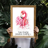 Flamingo Fine Art Print - perfect for the glamorous bird lover
