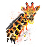 Giraffe Fine Art Print -  perfect for any African wildlife lover