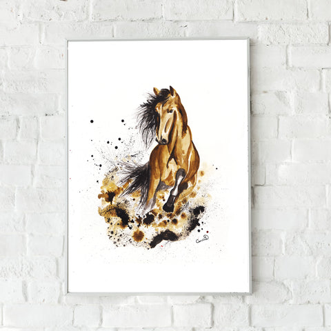 Horse Fine Art Print - perfect for equine lovers