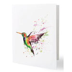 Fine Art Bird Series set of Blank Greeting Cards - size A5 (148mm x 210mm )