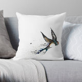 swift bird cushion