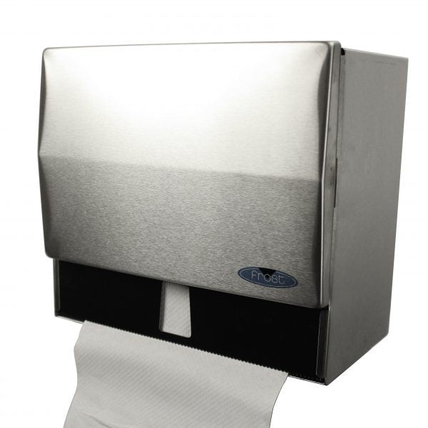 FROST 103 ROLL&SINGLE FOLD TOWEL DISP. STAINLESS.
